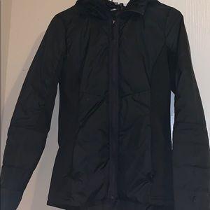 Black champion coat
